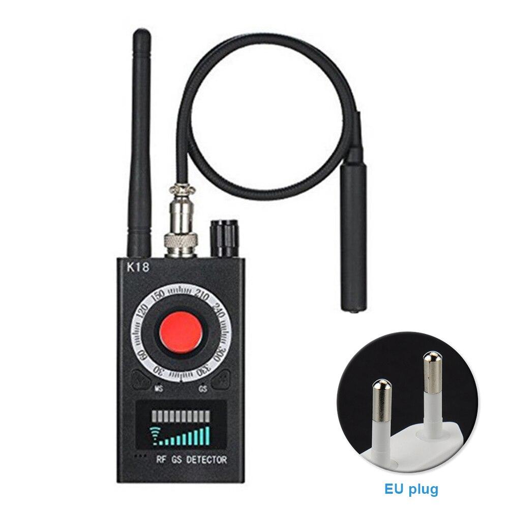 K18 RF Signal Radio Wave Scan Detector Camera Full Range Privacy Protect Anti spy GSM Finder