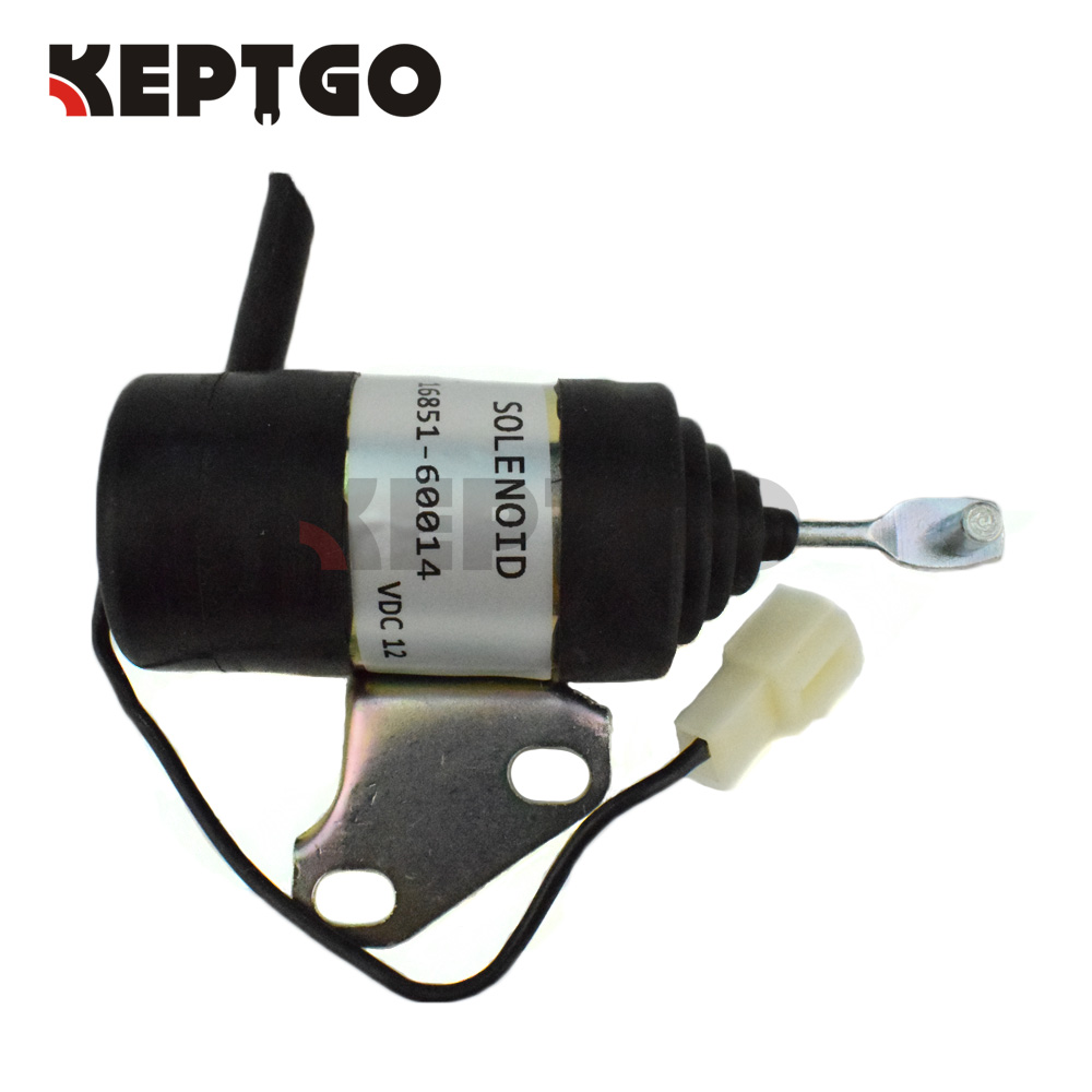 16851-60014 For Kubota Fuel Shut Off Solenoid B7410D BX1500D BX1800D BX1830D BX2230D 16851-60010 052600-4531 best battery brand size 357080 3 7v 1700mah lithium polymer battery with protection board for mp4 psp gps digital product free s page 7