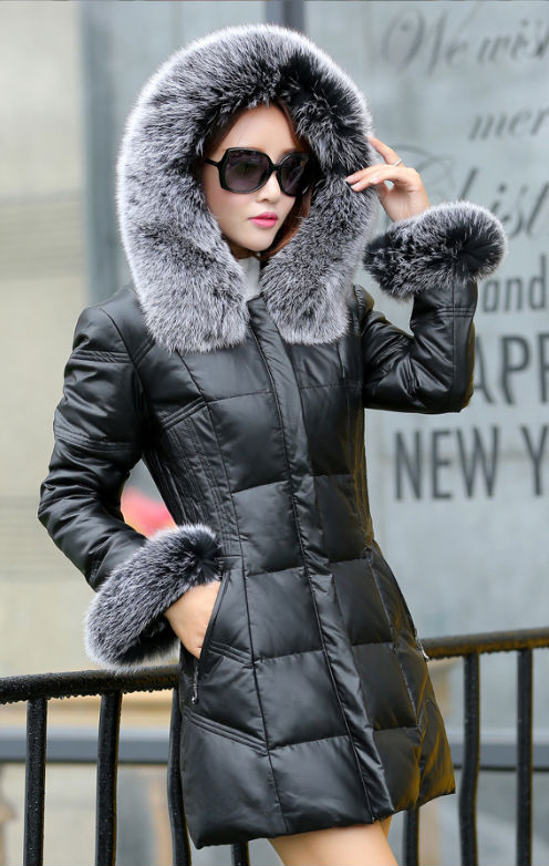Popular White Sheepskin Coat-Buy Cheap White Sheepskin Coat lots ...
