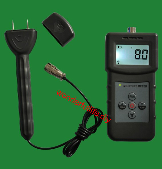 Handhold Moisture meter Pin and Inductive type for Timber Bamboo Carton concrete 4v series 24v dc solenoid valve