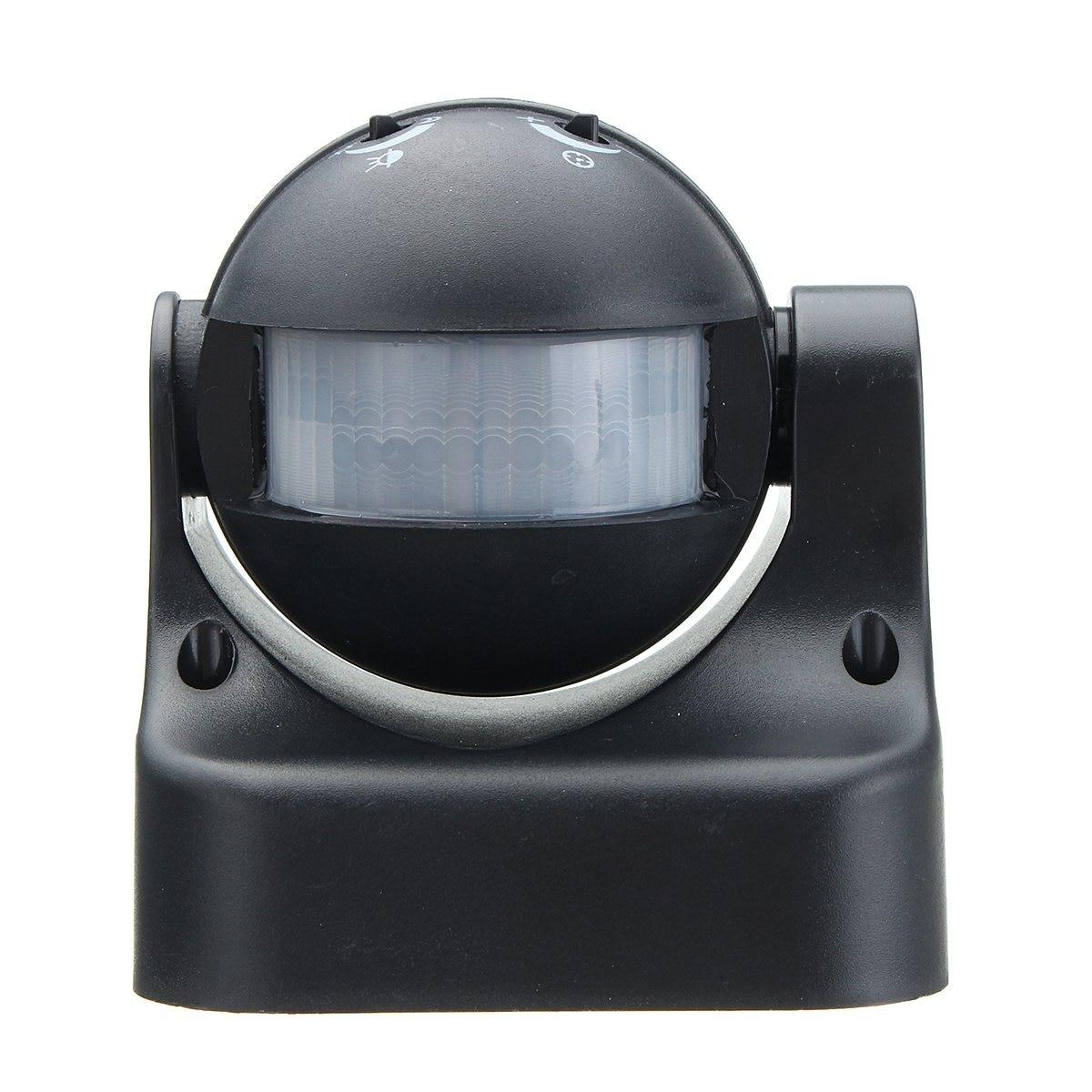 Safurance AC110V-240V Outdoor Human Body Infrared Detector Motion Sensor Switch Black Home Automation new safurance ac110v 240v outdoor human body infrared detector motion sensor switch black home automation
