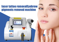 Q Switch nd yag laser pigment removal machine / 1064nm/532nm/1320nm laser tattoo removal beauty equipment