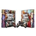 GTA-V Винил Наклейку Кожи Наклейки для Microsoft Xbox 360 E и 2 Контроллера Скины Наклейки для XBOX360 SLIM Электронной Игры аксессуары