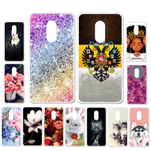 цена на Ojeleye DIY Patterned Silicon Case For TP-LINK Neffos X1 Lite Case Soft TPU Cartoon Phone Cover For TP-LINK C5A C9A Covers
