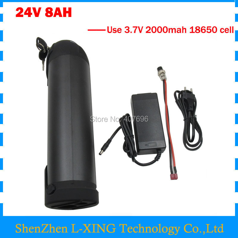 24 v 8ah lithium battery 24V 8AH water bottle battery 24V Ebike battery with 15A BMS 29.4V 2A Charger Free customs fee 2015 tigergrip lightweight waterproof non slip shoe covers man hotel kitchen work shoes rubber overshoes for special work