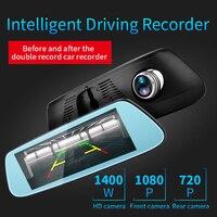 RoverOne 8'' Android GPS Navigation Car DVR 4G WIFI Bluetooth HD Video Recorder Auto Rear View Mirror Radar Detector Dashcam