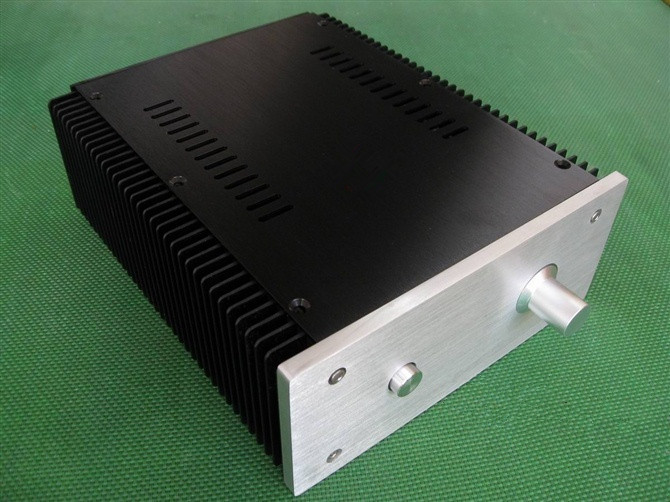 2109 All-Aluminum Class A Amplifier Chassis / AMP Case / DIY Box (211 * 90 * 257mm)2109 All-Aluminum Class A Amplifier Chassis / AMP Case / DIY Box (211 * 90 * 257mm)