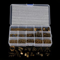 DIY Jewelry Findings Kit  Antique Bronze Plated  Accessories Beads cap/jump rings/clasps/pins for jewelry making BDH010-77