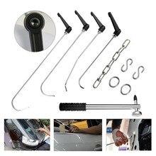 купить PDR Rods Crowbar Opening Tools Car Dent Paintless Remover Auto Body Dent Care Repair Hammer Hand Set Repair Tools PDR Kit по цене 2587.66 рублей