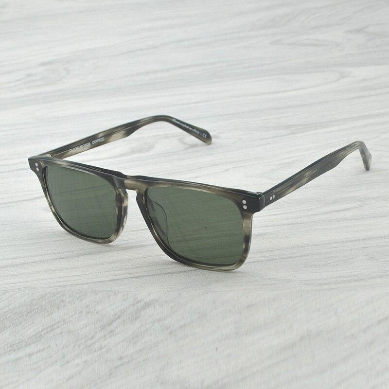 OV5189S rétro Vintage hommes lunettes de soleil Bernardo marque Rectangle conduite Sport hommes lunettes de soleil polarisées pour homme