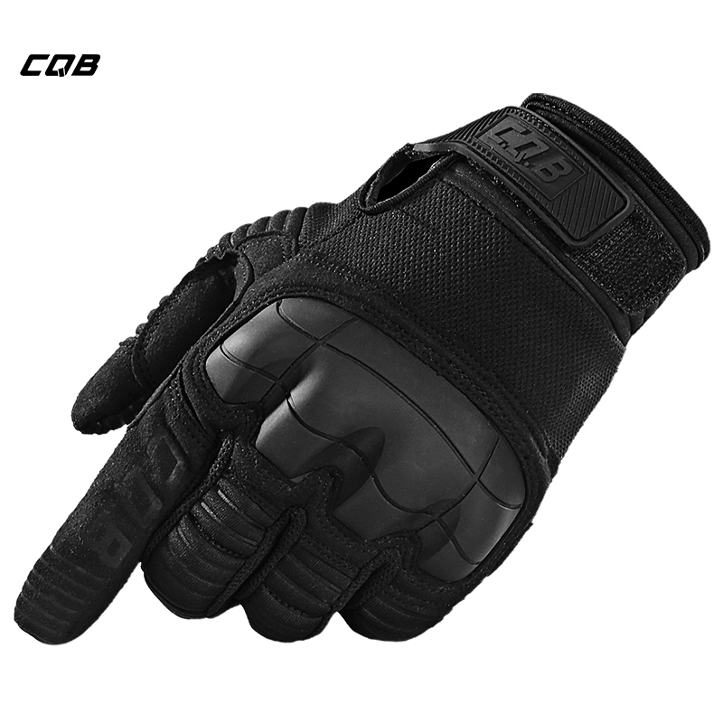 CQB Outdoor Sports Tactical Military Full finger Gloves Army Paintball Shooting Airsoft Combat Anti-Skid Rubber Knuckle Gloves