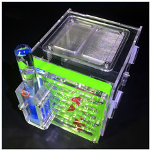 Мини муравьиный город A1 клетка для насекомых ферма гнездо с кормом корзина акриловый дисплей коробка муравьиная мастерская Студенческая научная игрушка СВЕРЧКИ клетки