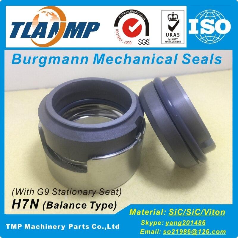 H7N-60/G9 Burgmann механических уплотнений | H7N серии сбалансированного уплотнения с уплотнительным кольцом для насосов(размер вала: 60/65 мм
