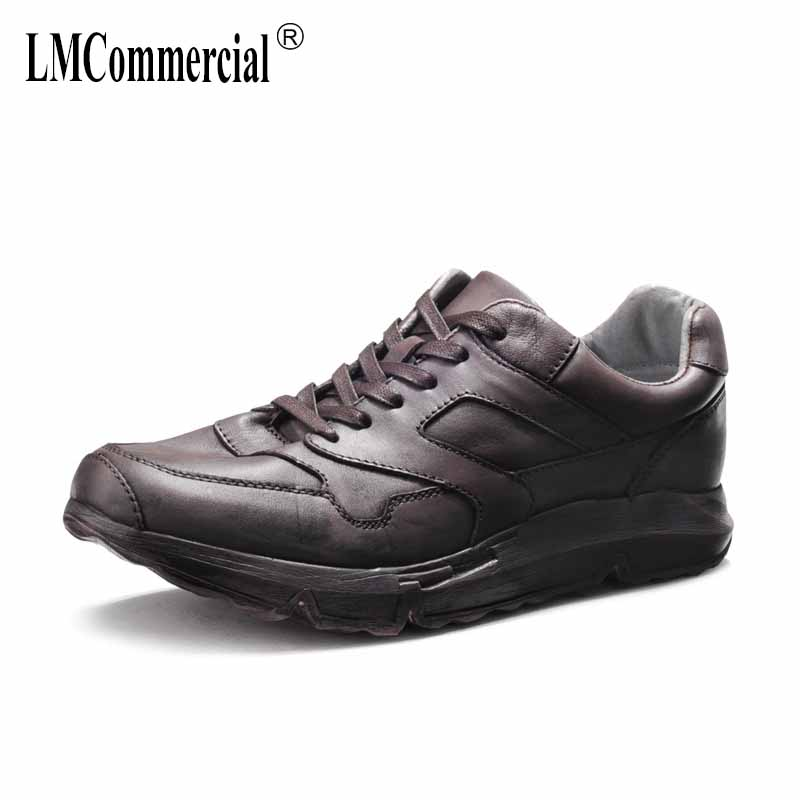 spring real Genuine Leather shoes men all-match cowhide breathable sneaker fashion men's casual shoes male spring autumn summer men s shoes spring and autumn summer all match cowhide breathable sneaker fashion boots men casual shoes genuine leather male