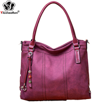 Luxury Women Leather Handbags Designer Large Capacity Tote Bag Set Casual Crossbody Bags for Women Composite Bag Sac A Main 2019 new patent leather tote bag fashion solid sequined women s handbags 3 set composite bag luxury handbags women bags designer sac