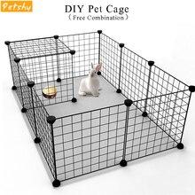 Petshy DIY Pet Fences Dog Cage Playpen Iron Net Cat Puppy Ke