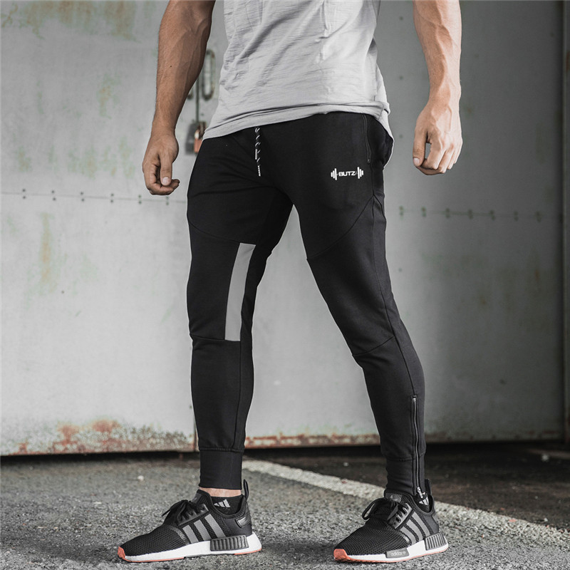 Autumn Casual Plaid Sweatpants Solid Fashion High Street Trousers Pants Men Joggers Brand High Quality Fitness Camouflage Pants