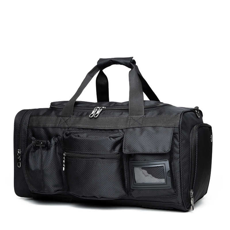 9972292f090c Winmax Multifunctional Pocket Gym Bag Travel Bags Waterproof Large Handbag  Tote Luggage Men for Fitness Black