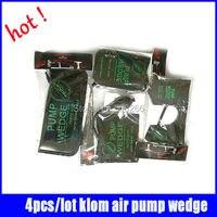 4pcs Lot 100 Original Klom Air Wedge Locksmith Tools Black Air Wedge Pump Wedge Professional Diagnostic