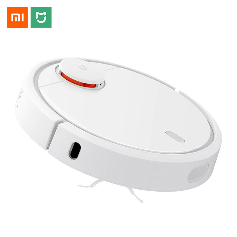 Original Xiaomi Mi Robot Vacuum Cleaner for Home Automatic Sweeping Charge Dust Cleaner Smart Planned Mijia