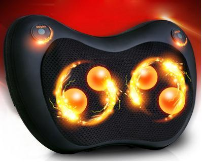Car and multi-function Massager massage pillow neck lumbar leg neck Massager Massager infrared warming themselves