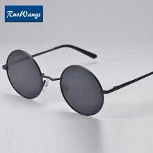 a04e9823299d Ruowangs Eyewear round sunglasses polarized sun glasses men oculos de sol  original sunglasses for women designer