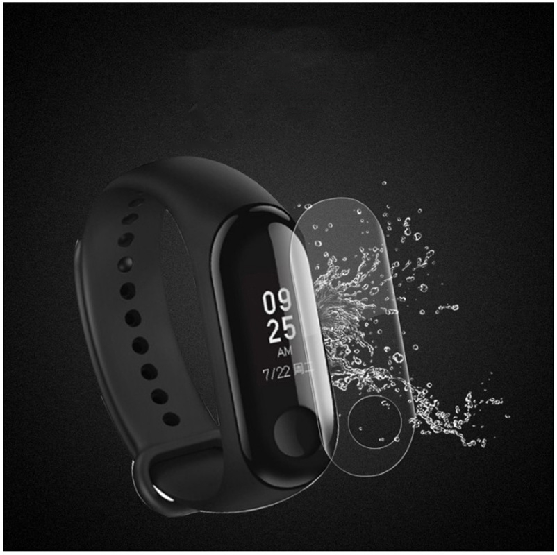 5pcs Screen Protector Film For Xiaomi Mi Band 3 Smart Wristband Bracelet Xiomi Mi Band 3 Protective Films Not Tempered Glass in Smart Accessories from Consumer Electronics