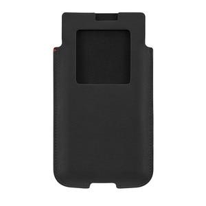 Image 3 - Oryginalna skóra naturalna etui na telefon Blackberry KEYone etui na telefon moda luksusowe ręcznie robione etui na Blackberry PRESS DTEK70
