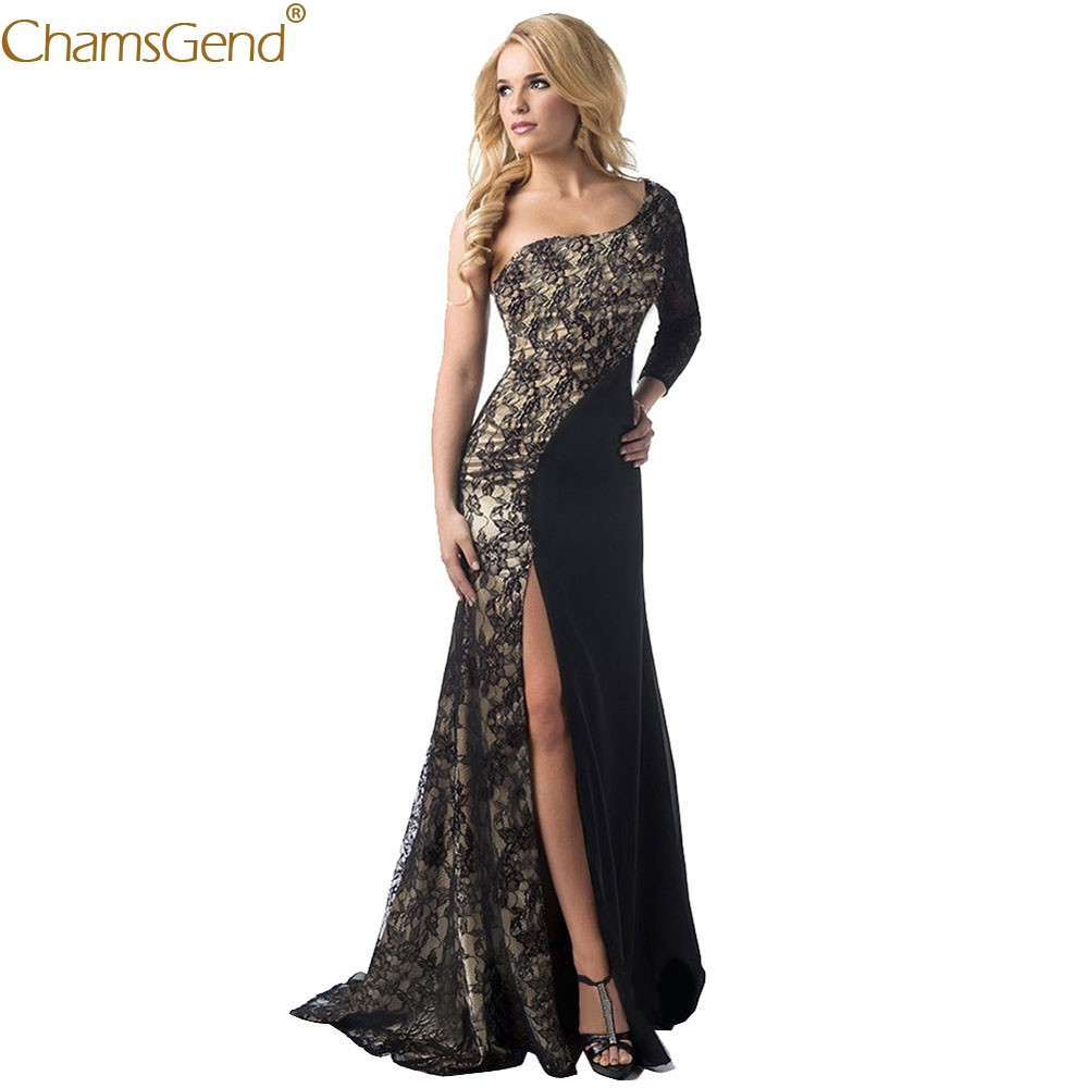 2019 Sexy Dress summer dress women Formal Wedding Bridesmaid Long Ball Prom Gown woman party night Jun26