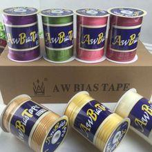 """5/""""(15 мм) X25Yards/карта атласная косая лента, AW бренд ручной работы для пошив одежды «сделай сам» и обрезки"""