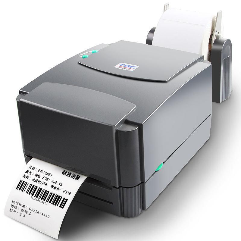Original novo porta usb Desktop Transferência Térmica Impressora de Código de Barras Impressoras de Etiquetas TSC TTP-244
