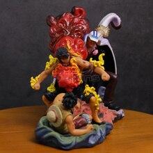 One Piece The Death Of Ace Luffy & Ace VS Sakazuki PVC Figure
