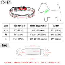 Soft Cat Collar and Tag Set Cat Dog Collars Personalized Padded ID Collars Puppy Pet For Small Medium Cats Free Bell XXS