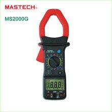 1 шт. MASTECH MS2000G 1999 количество Цифровой Токоизмерительные Ток AC DC Напряжение Сопротивление Тестер
