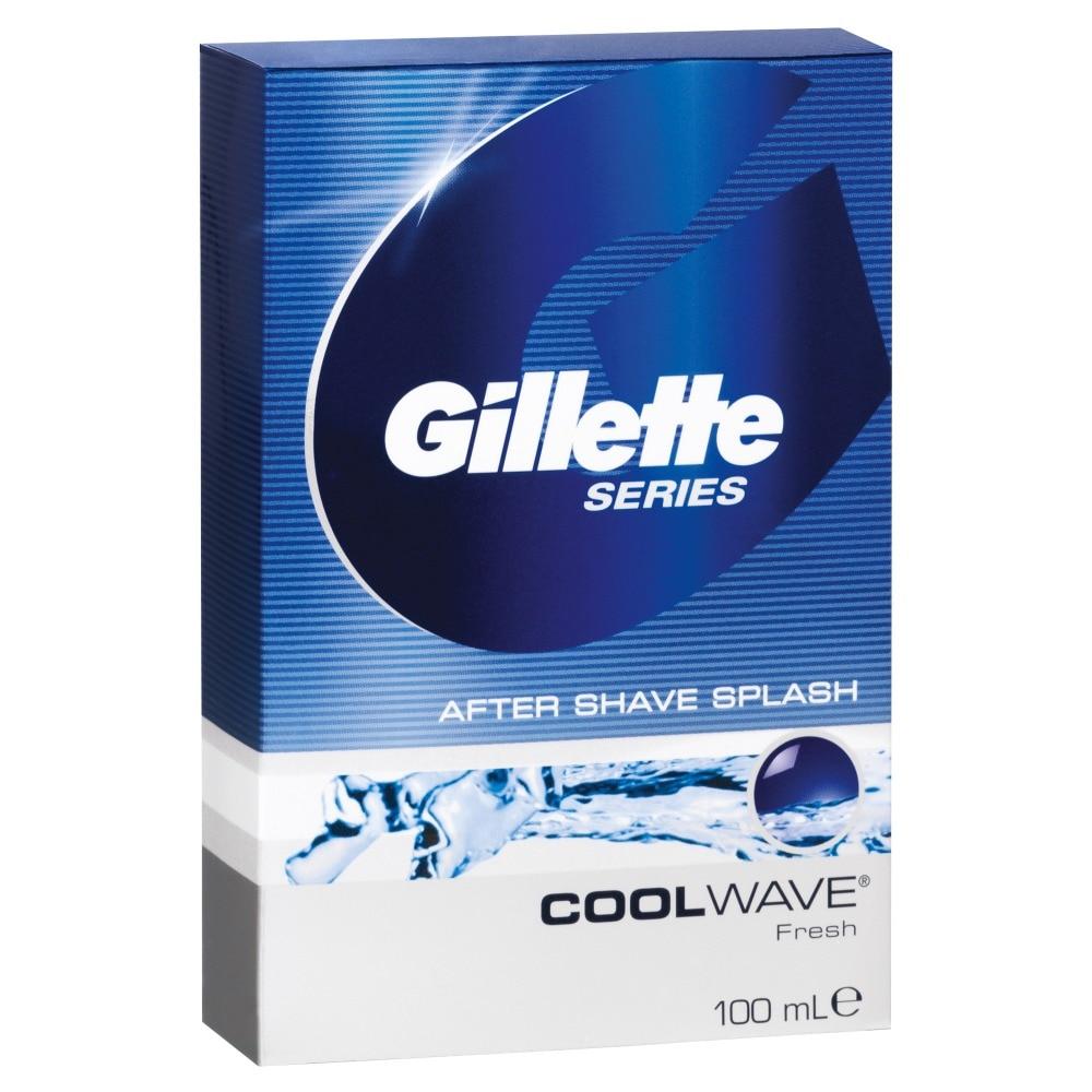 Gillette CoolWave After Shave Lotion dr renaud lotion tonique astringente citron vert lime astringent tonic lotion 500ml 16 9oz salon size