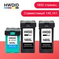 HWDID 140 141XL เติมหมึกสำหรับ hp/hp 140 141 สำหรับ hp Photosmart 140 C4283 C4583 C4483 c5283 Deskjet D4263