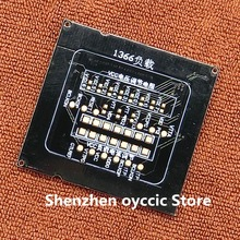 1pcs * 새로운 lga1366 lga 1366 cpu 소켓 테스터 더미로드 가짜 부하