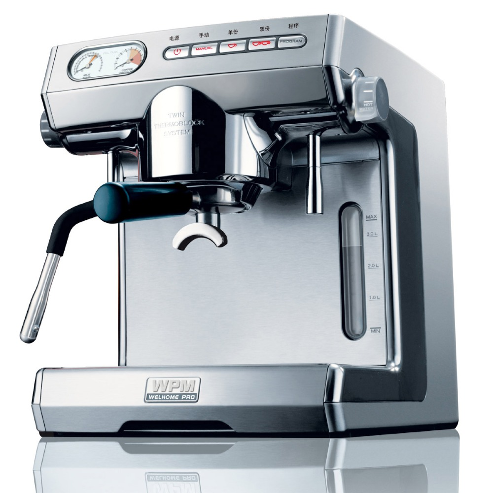 Welhome Espresso Machine Coffee Maker Commerical Popular Semi Mesin Pembuat Kopi 6 Ltr Automatic Kd 270s Home And Shop 220v In Makers From