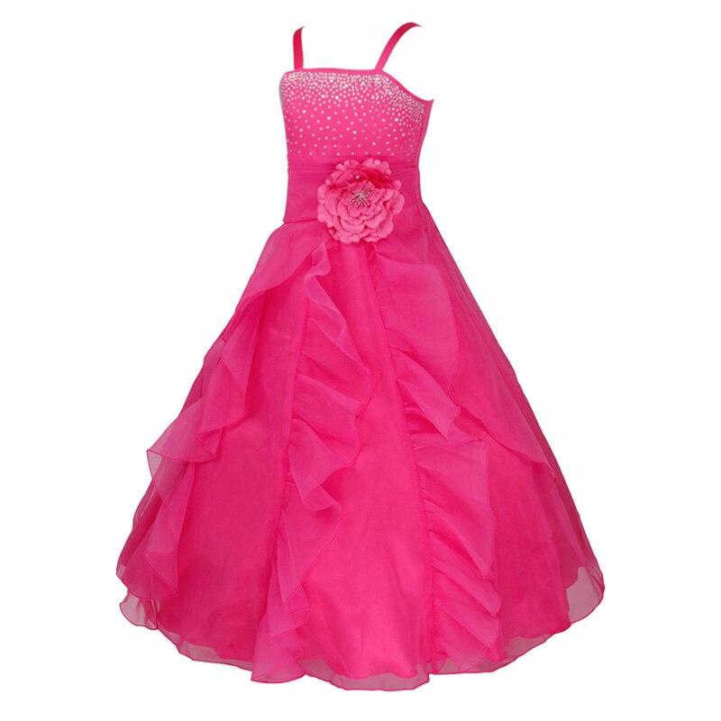 fb751b94a Vestidos Long Party Dress Kids Dress Children s Princess Birthday ...