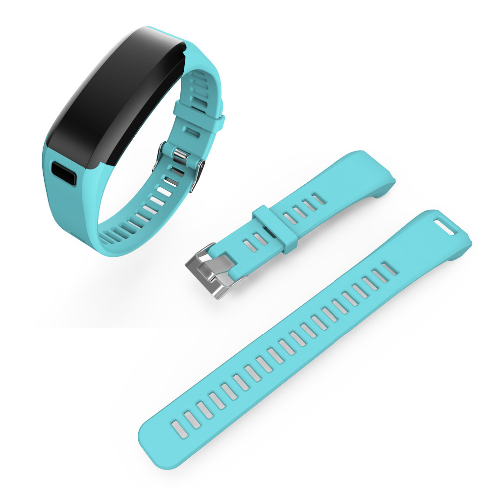 Fashion Sports Silicone Watchbands for garmin Strap Bracelet Replacement Wristband Smart Accessory for garmin VIVO Smart HR Band 11