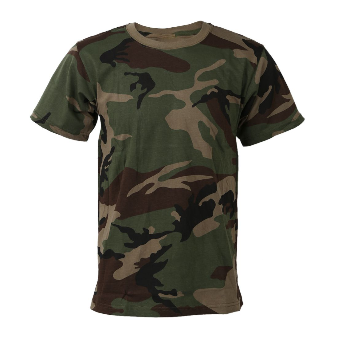 Summer Outdoor Hunting Camouflage T-shirt Men Breathable Army Tactical Combat T Shirt Military Dry Sport Outdoor
