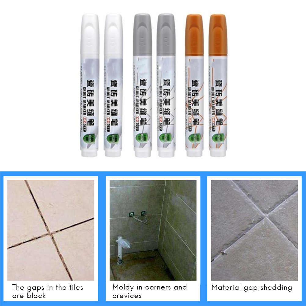 Grau Fliesen Lücke Reparatur Refill Stift Mörtel Auffrischung für Weiß Küche Dusche Bad Farbe Reiniger Füllung Agenten Wand Porzellan