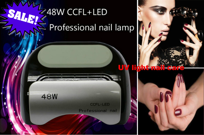 Red/White/Black Automatic Gel Curing LED Light Nail Polish Lamp Nail Dryer 48wRed/White/Black Automatic Gel Curing LED Light Nail Polish Lamp Nail Dryer 48w