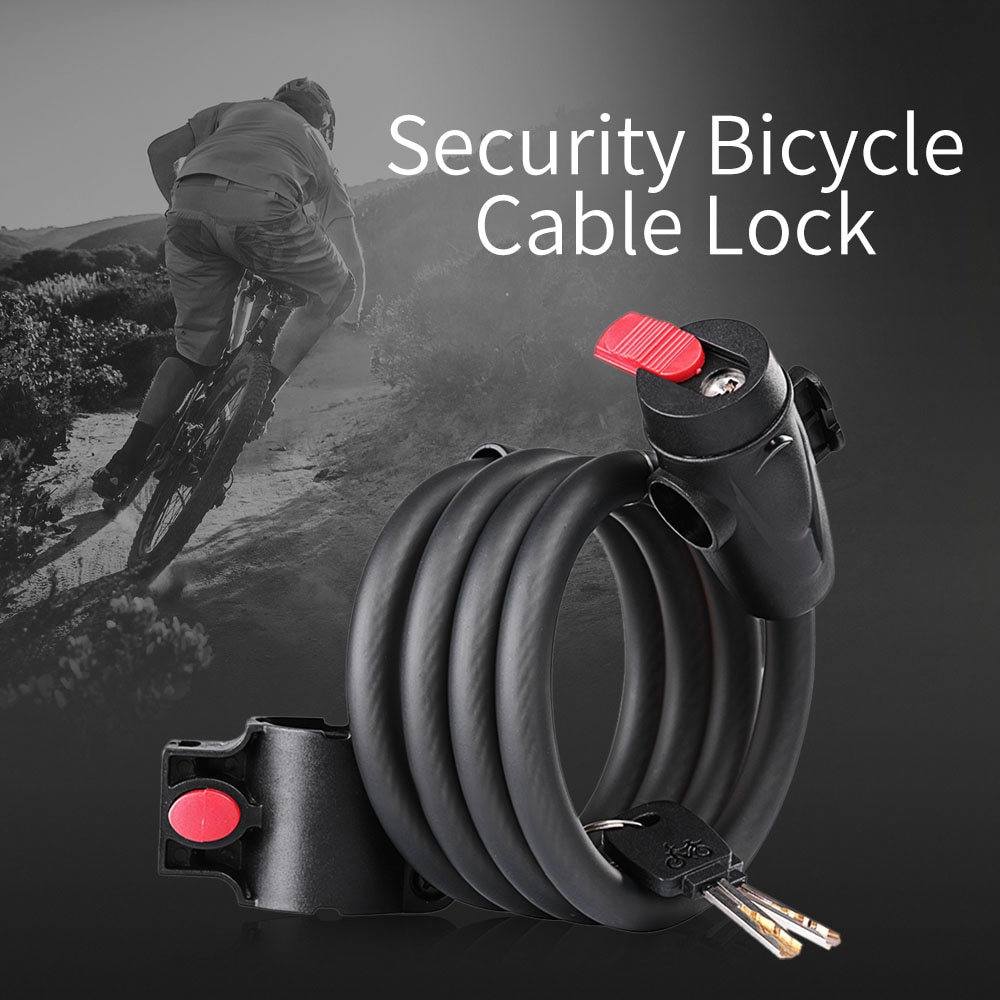 Motorbike Motorcyle Security Heavy Duty 1.8 Mt Nylon Covered Steel Chain Bike