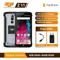 ZJI ZOJI Z11 IP68 водонепроницаемый пыленепроницаемый 10000 мАч смартфон 4 Гб 64 Гб Восьмиядерный мобильный телефон 5,99