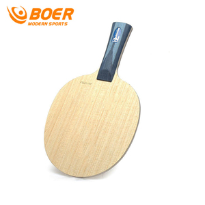 Image 3 - BOER ALC 7layers Carbon Fiber Table Tennis Racket Easy Control High end Ping Pong Blade And Light Tip Heavy Handle Paddle Bat