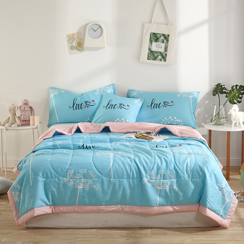 ARNIGU 100% Cotton Bedspread children Throw blanket single double bed Summer thin Comfor ...