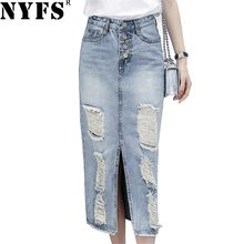 ec082bf4c5d3 Women Long Denim Skirt-Kaufen billigWomen Long Denim Skirt Partien ...