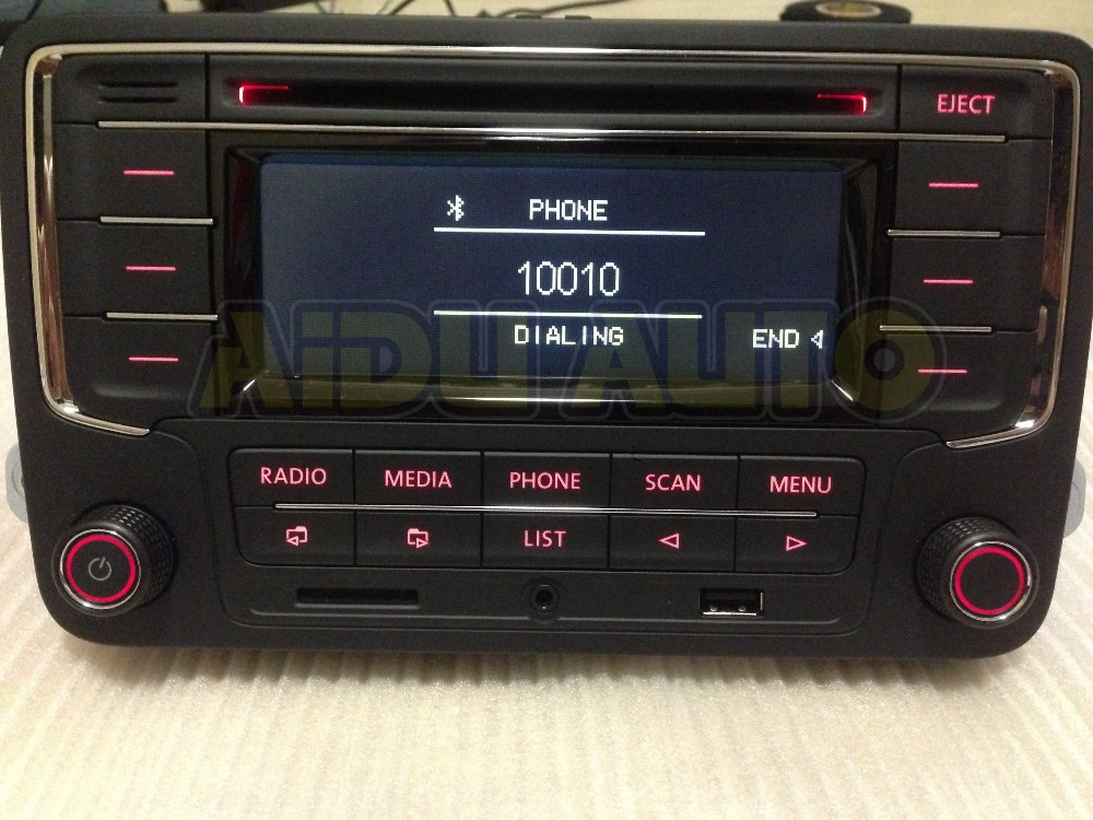 vw volkswagen original oem autoradio rcn210 cd mp3 usb sd. Black Bedroom Furniture Sets. Home Design Ideas