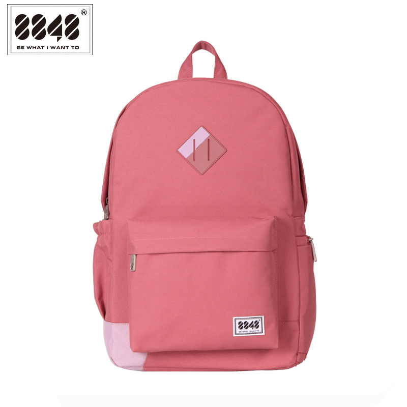 Travel Women Backpack Ny Spring School Bag Casual Type 15.6 'Laptop Sko Pocket Vandtæt Polyester Girl Backpacks 229-020-003